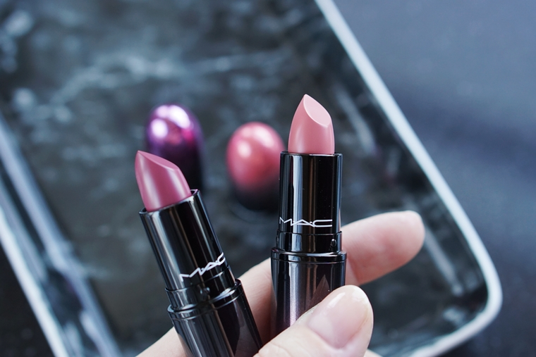 mac love me lipstick review 7 - MAC Love me Lipstick | Daddy's Girl & Killing me Softly