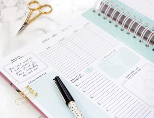 goed leren plannen tips