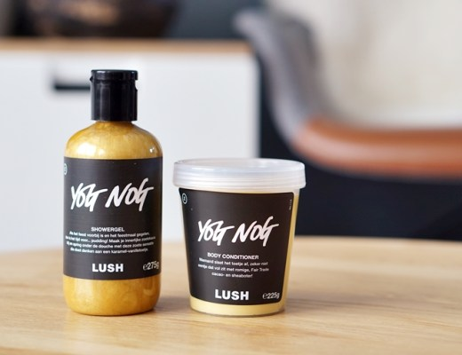 lush yog nog showergel body conditioner review