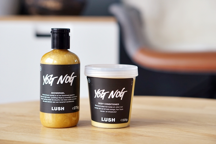 lush yog nog showergel body conditioner review 1 - Love it! | Lush Yog Nog showergel & body conditioner