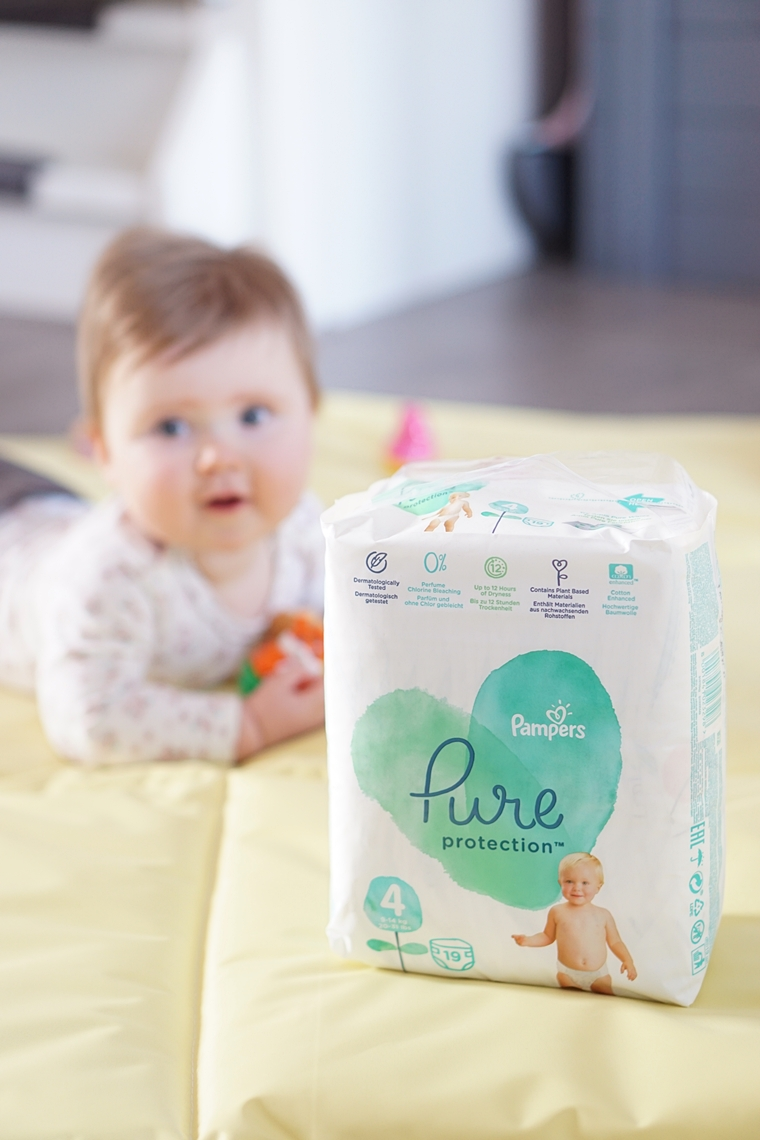pampers pure 3 - Bewuster leven | Pampers Pure Protection luiers & babydoekjes