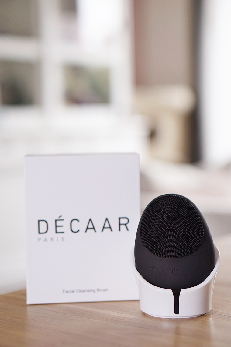 decaar facial cleansing brush review 2 - Beauty gadget | Décaar facial cleansing brush