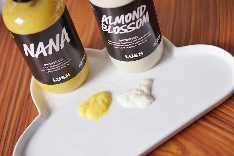 lush nana almond blossom review 4 - Love it! | Nieuwe doucheproducten van Lush