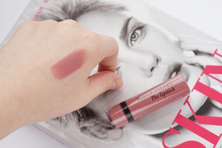 bourjois rouge velvet lipstick 32 choupink 4 - Bourjois Rouge Velvet lipstick in Choupi'nk