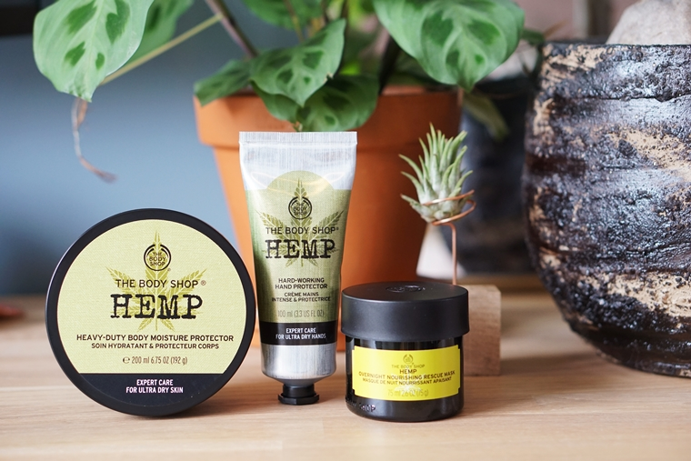 the body shop hemp 1 - The Body Shop Hemp producten