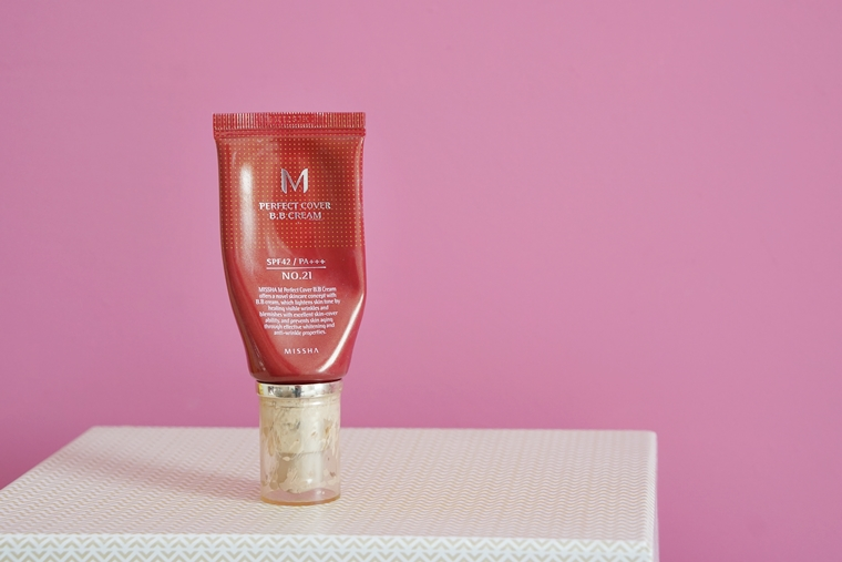 missha m perfect cover bb cream review 2 - Foundation Friday   Missha M Perfect Cover BB Cream