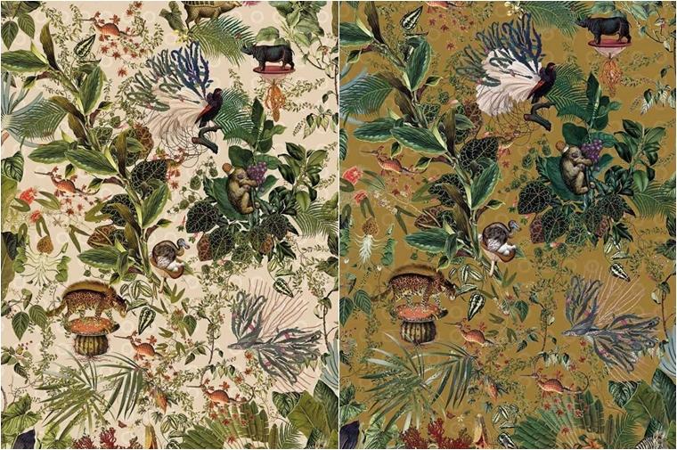 moooi behang coloredwalls 3 - Interieur   Geef je muren een make-over met Moooi behang