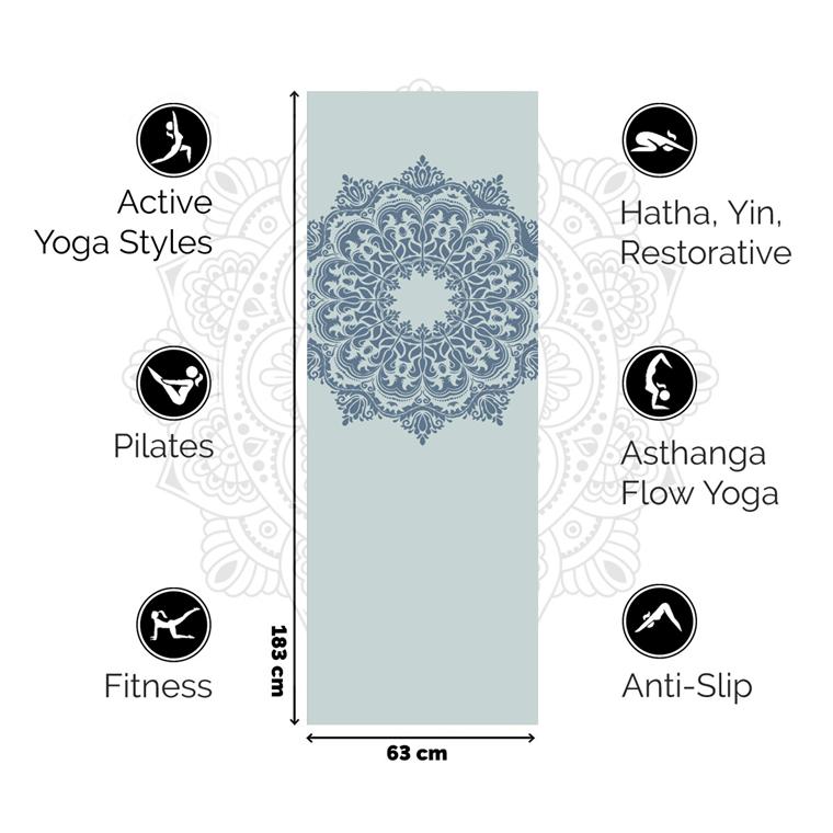 love generation yogamat 3 - Health | Love Generation mandala yogamat