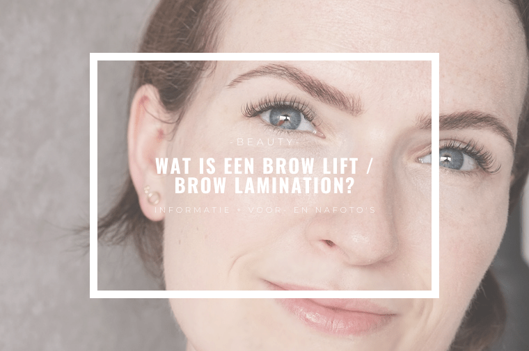 brow lamination brow lift arnhem brows by ellis 4 - Het resultaat van mijn brow lift / brow lamination