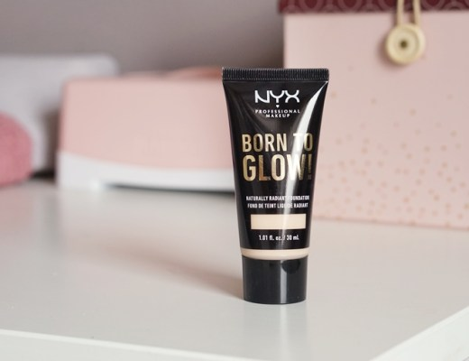 NYX born to glow foundation review/ervaring/test