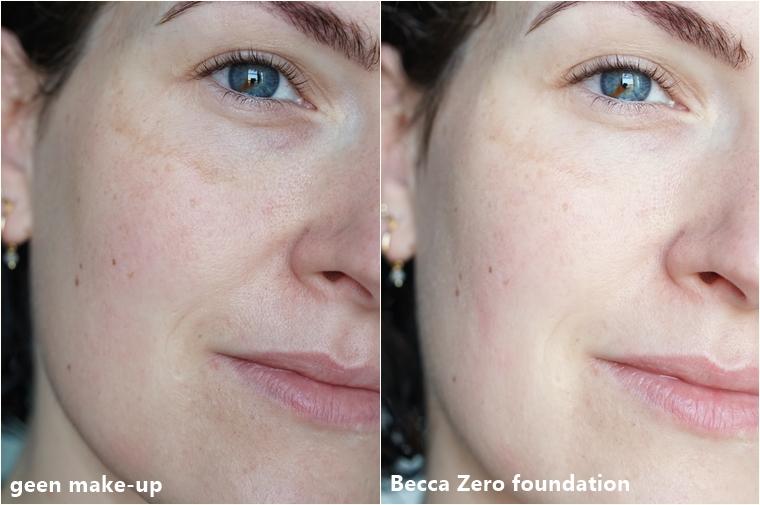 Becca zero foundation review 2 - Foundation Friday | Becca Zero foundation