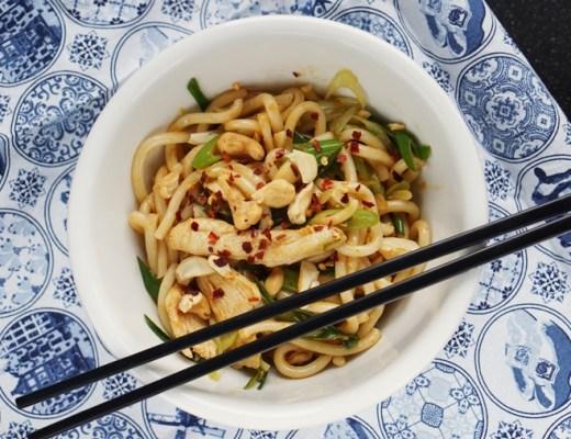 spicy noodles yaki udon recept (BK Wokarang)