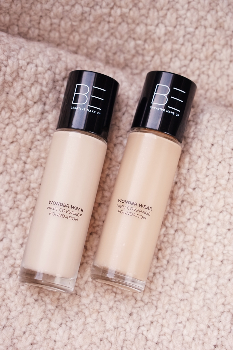 be creative make up wonder wear foundation review 2 - Foundation Friday | BE Creative Make-up Wonder Wear foundation