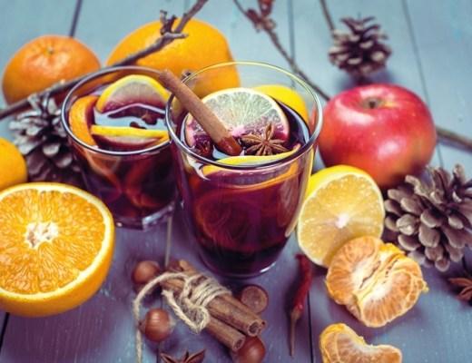 alcoholvrije punch recept (met Baldini by Taoasos olie)