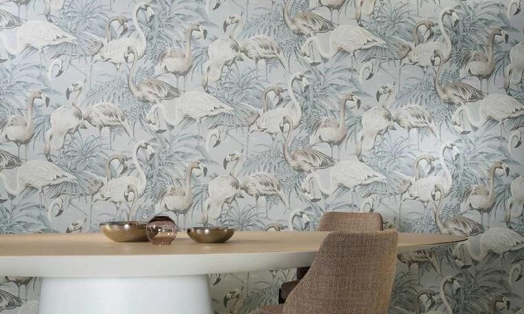 flamingo behang trend tips 6 - Interieur | Het leukste flamingo behang