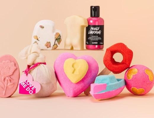Lush same-day delivery Nederland + Valentijn 2020 collectie