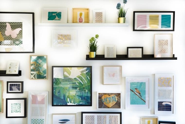 foto interieur tips inspiratie 2 - Home | 3 originele tips om foto's te verwerken in je interieur