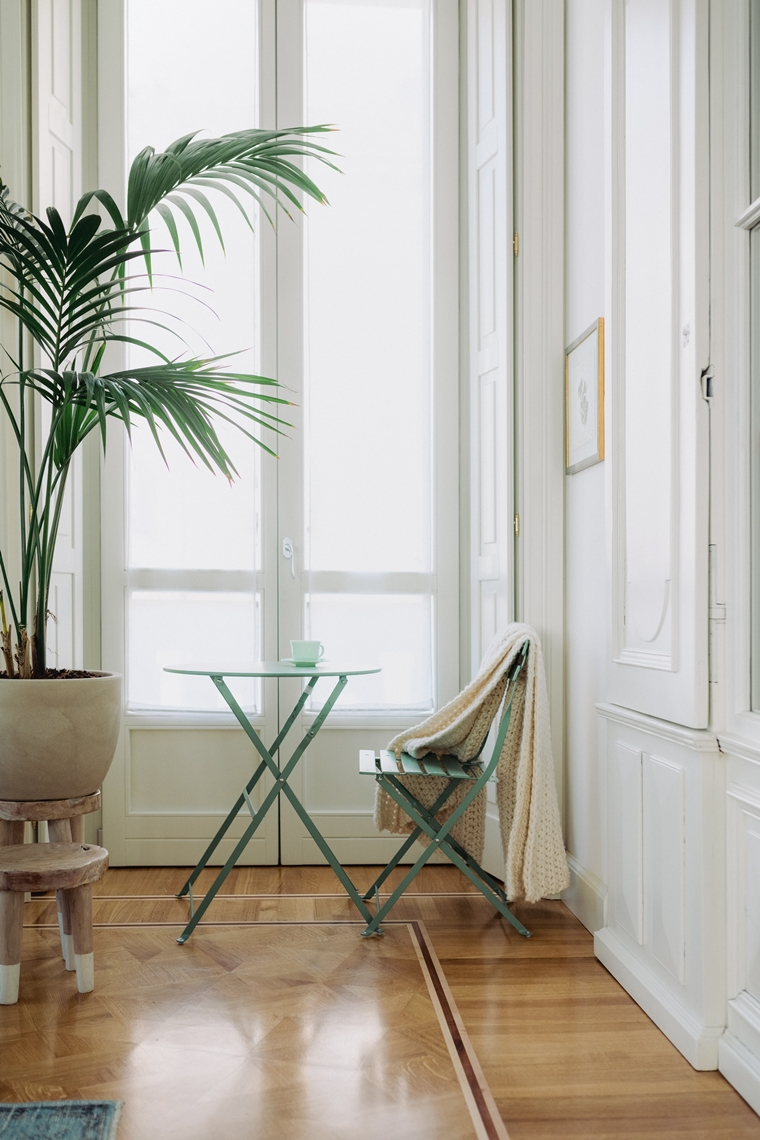 ruimtelijk interieur binnendeur met glas staal 4 - Home | 3x Een ruimtelijk interieur creëren (zoals met een glazen binnendeur)