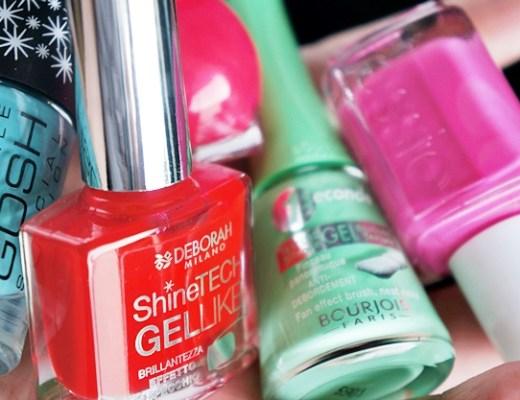 5 zomerse nagellakjes 2 - Zomerse nagellak van Essie, Bourjois, GOSH, Deborah Milano & Miss Sporty