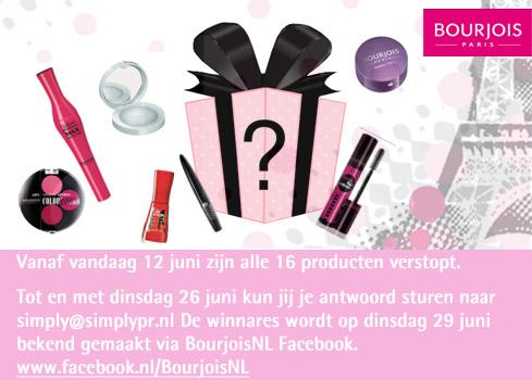 Einde Wedstrijd - Maak jij al kans op de Bourjois goodiebag t.w.v. €160,00?