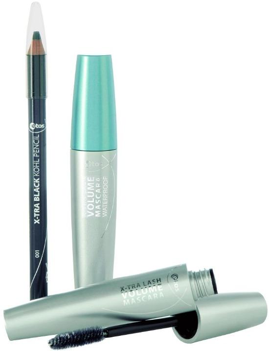 Etos X-tra Black Kohl Pencil & Volume Mascara