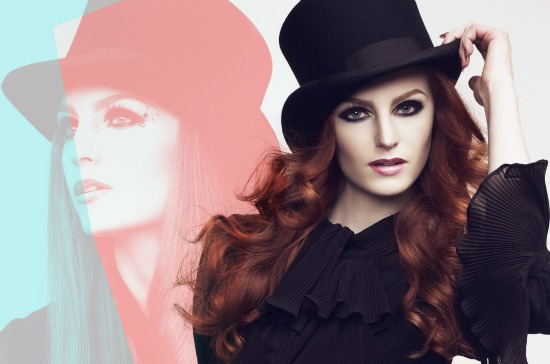 MUS Höst 2011  - Make Up Store fall look 2011 'Show Girl'
