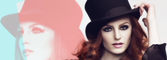 MUS Höst 2011 small - Make Up Store fall look 2011 'Show Girl'