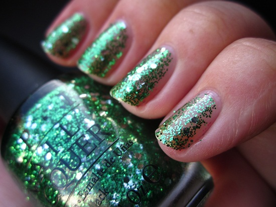 NOTD OPI Fresh Frog Of Belair 2 - OPI | The Muppets collectie