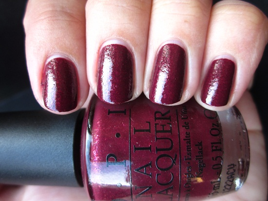 NOTD OPI Pepes Purple Passion 1 - OPI | The Muppets collectie