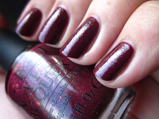 NOTD OPI Pepes Purple Passion 2 - OPI | The Muppets collectie