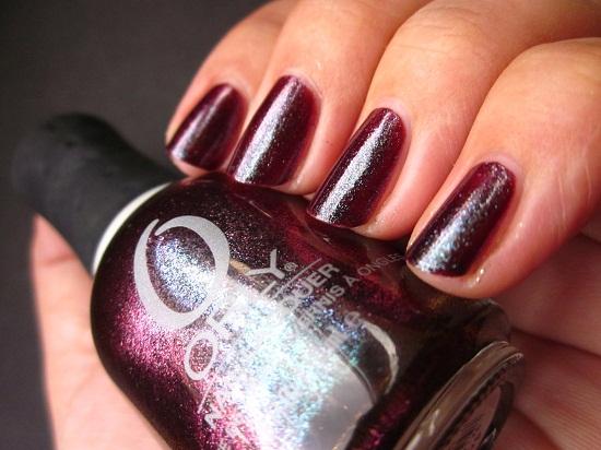 NOTD Orly Galaxy Girl 1 - Orly Cosmic FX - Galaxy Girl