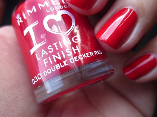 NOTD Rimmel DDR 3 - Rimmel | I Love Lasting Finish Nail Polishes