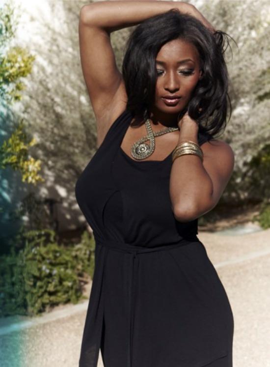 Tocarra 6 - Plus Size: Toccara Jones in Evans voor NOW Magazine