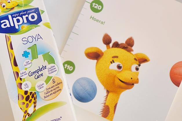 alpro sojadrink 1 complete care 3 - Smoothie recepten voor baby's/kinderen + gratis groeimeter (tip!)