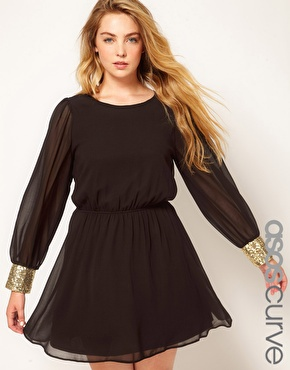 asos2012kerst7 - Plussize christmas outfits... ASOS Curve!