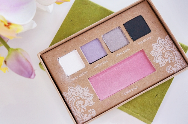 aveda-a-gift-of-twinkling-eyes-palette-review-swatches-look-2