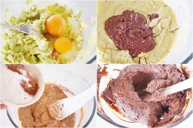recept brownies met avocado