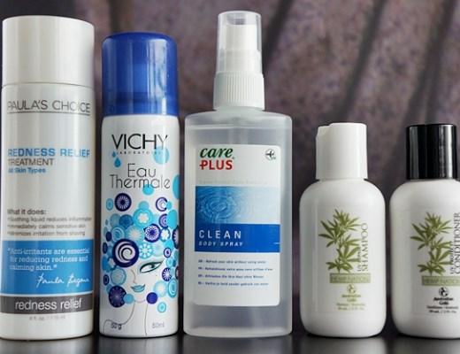 beauty reis tips 1 - Handige beautyproducten voor op reis