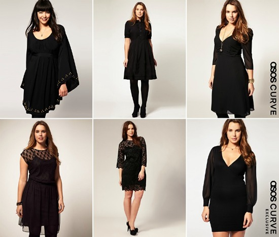 blackdresswinter1 - Plus Size | Black Dresses voor de winter/feestdagen