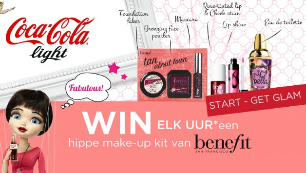 Get Glam met Coca Cola light en win fantastische prijzen!