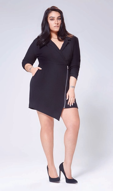 boohoo plus nadia Aboulhosn 9 - Plussize | Boohoo Plus x Nadia Aboulhosn collectie