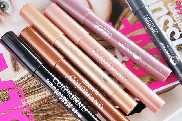 bourjois colorband eyeshadow liner review swatches 1 - Bourjois Paris très Confidentiel | Colorband eyeshadow & liner