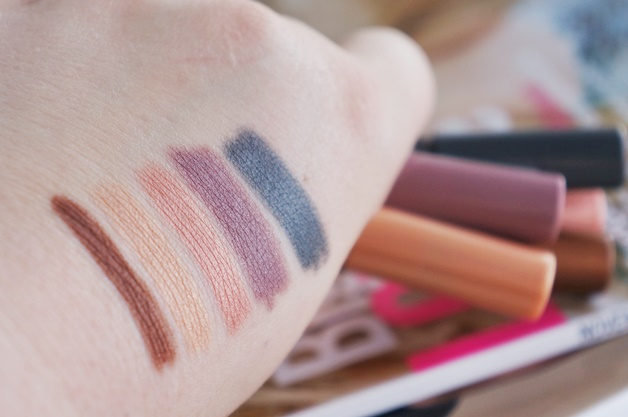 bourjois colorband eyeshadow liner review swatches 3 - Bourjois Paris très Confidentiel | Colorband eyeshadow & liner