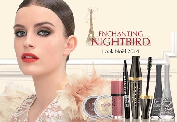 bourjois enchanting nightbird kerst 2014 7 - Bourjois | Enchanting Nightbird kerstcollectie