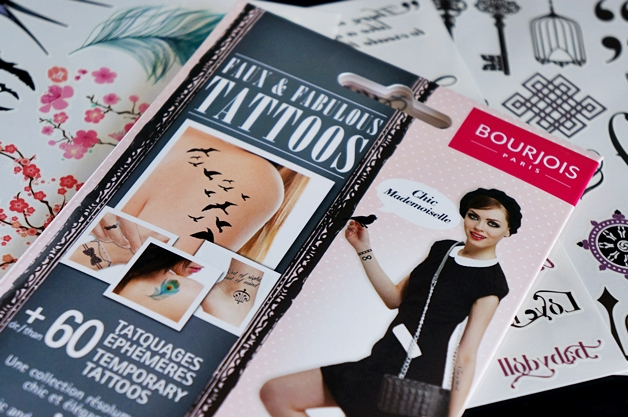 bourjois faux fabulous tattoos 1 - Bourjois faux & fabulous tattoos