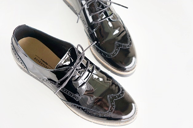 cute brogue shoes