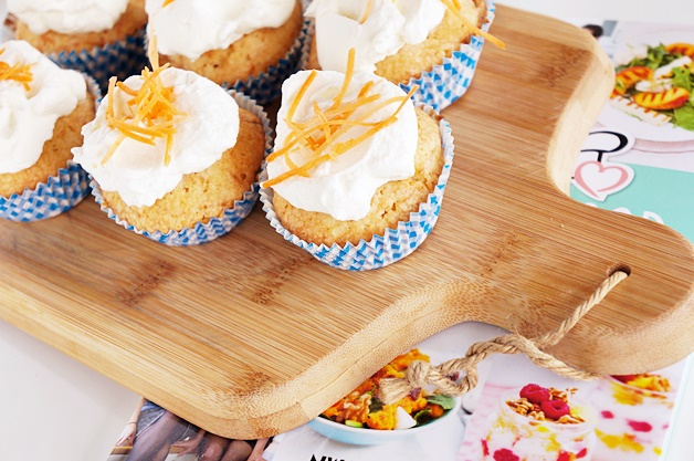 carrot wortel cupcakes recept 1 - Kookboek recept | Carrot cupcakes