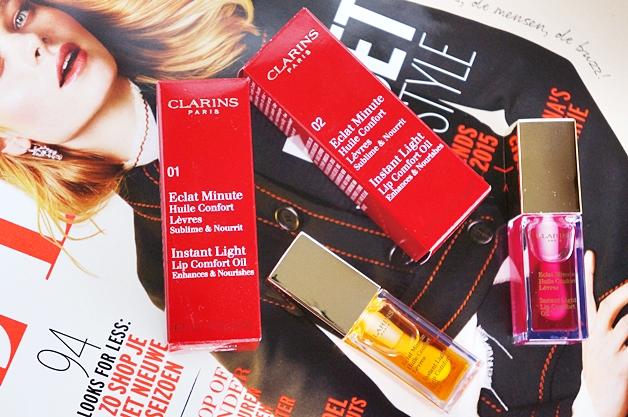clarins instant light lip comfort oil 1 - Clarins instant light lip comfort oil
