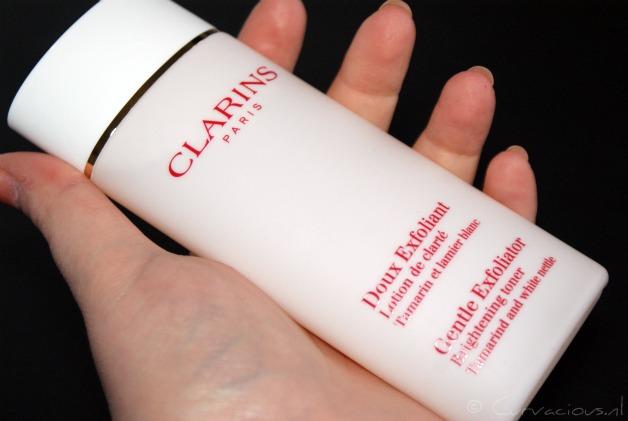 clarins2012januari1 - Clarins | Doux Exfoliant & Fix' Make-Up