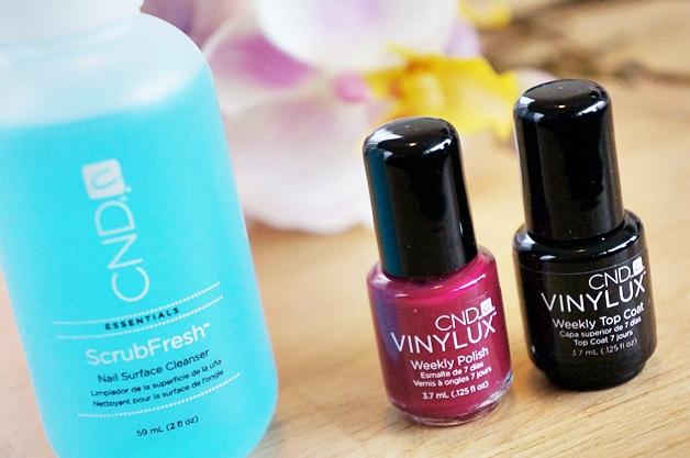 cnd vinylux weekly polish top coat tinted love 1 - CND Vinylux weekly polish   Tinted Love
